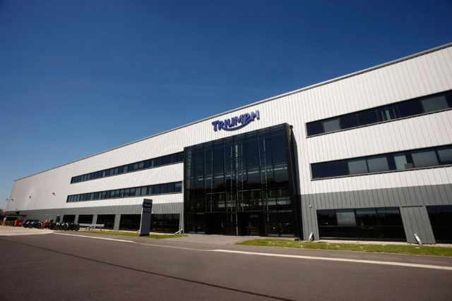Triumph to increase production ten-fold
