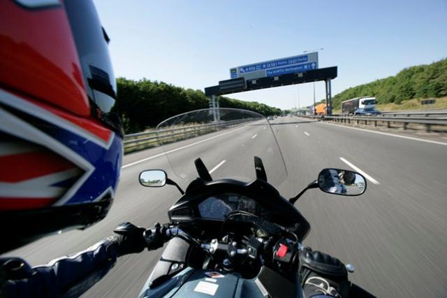 motorway riding