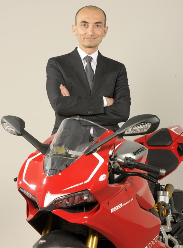 Ducati gets a new CEO