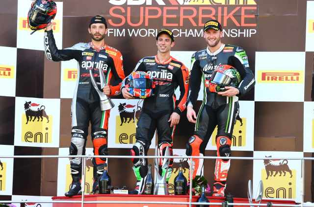 WSB 2014: Championship standings after Sepang