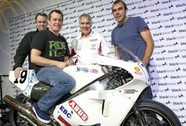 McGuinness to ride Hislop's 1992 winning Norton at the Classic TT