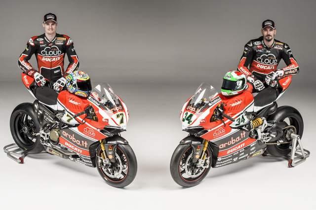Ducati's 2015 WSBK livery revealed