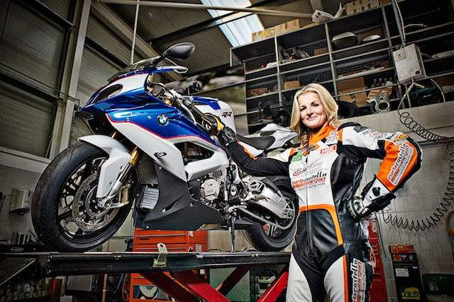 Maria Costello signs for Ice Valley Racing BMW