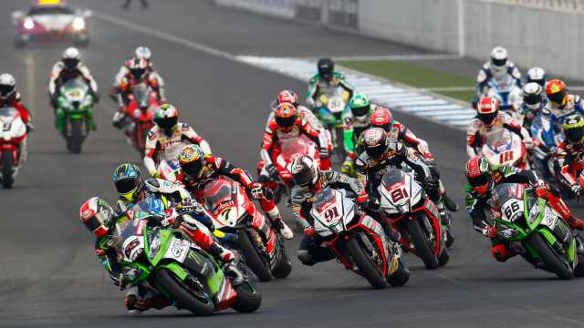 WSBK 2015: Thailand race one results