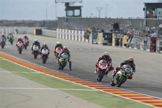 WSB 2015: Aragon race one results