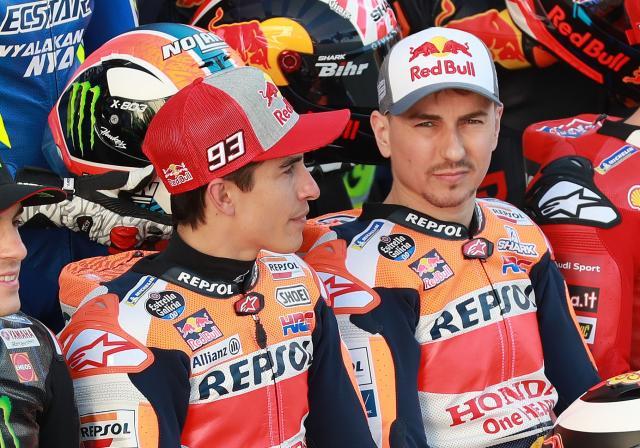 Marc Marquez, Jorge Lorenzo - Repsol Honda 2019 MotoGP