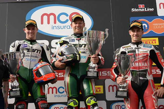BSB 2015: championship standings after Knockhill