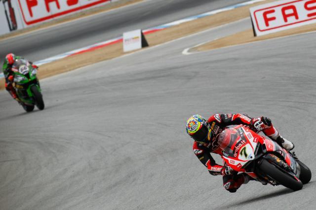 WSBK 2015: Laguna Seca race two results