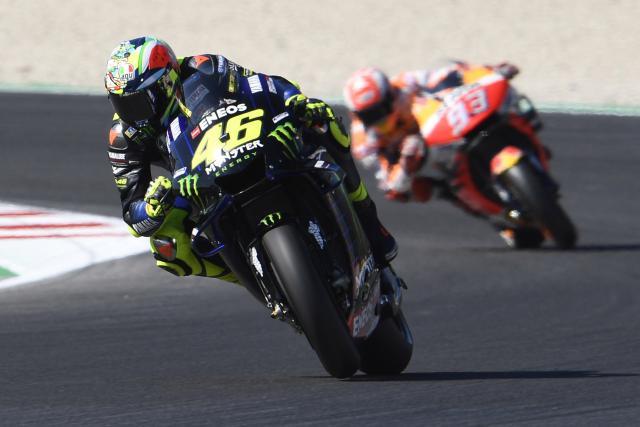 Marc Marquez - Valentino Rossi