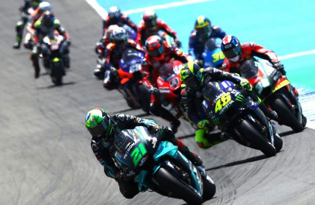 MotoGP start field