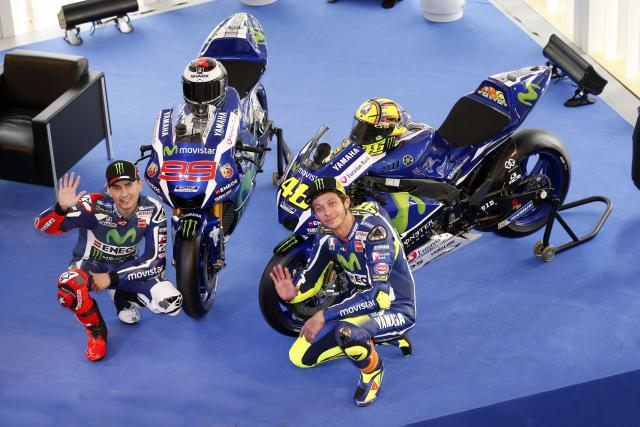 Rossi and Lorenzo talk Michelin tyres