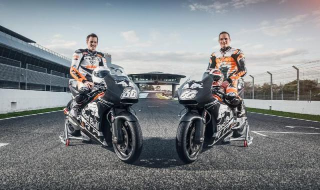 KTM complete first 2016 MotoGP test