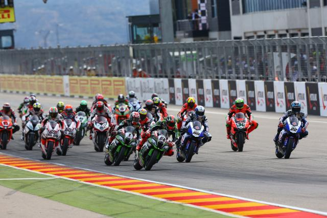 WSB 2016: Aragon race two results