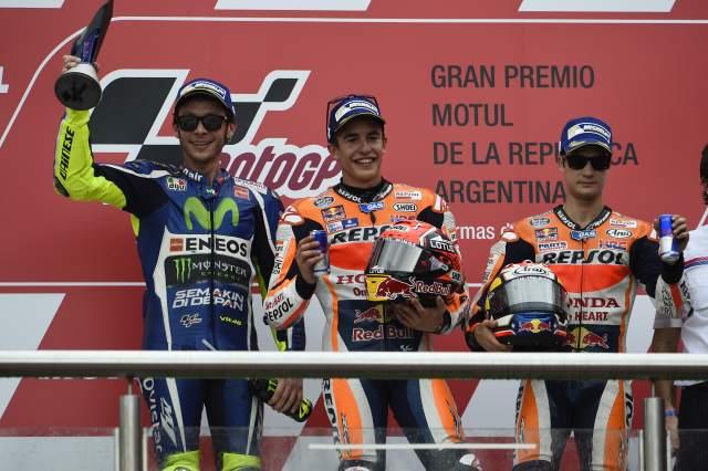 MotoGP 2016: Championship standings after Argentina