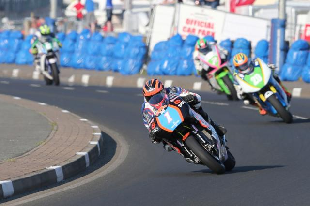 North West 200: Incident at Black Hill red-flags Supertwin race