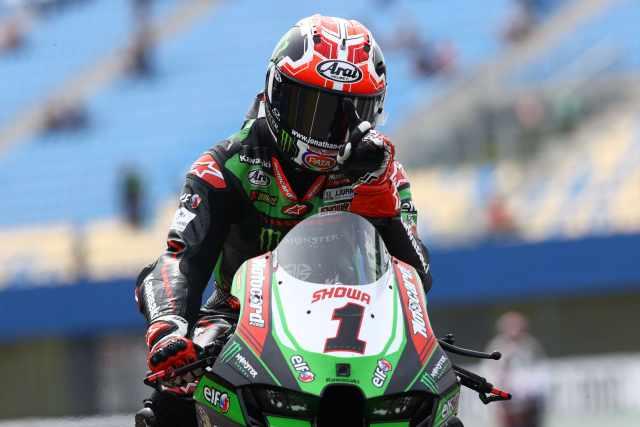 Jonathan Rea - Kawasaki Racing Team ZX-10RR, Assen, WorldSBK 2021