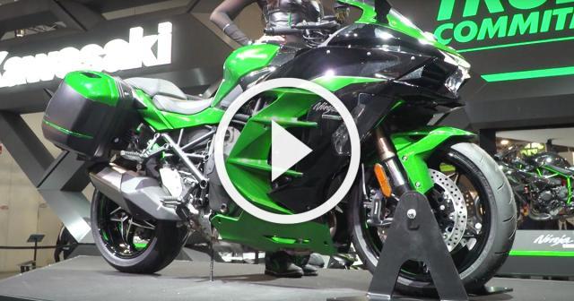 Kawasaki H2 SX - A closer look