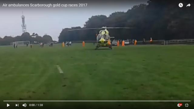 Spectators injured in two crashes at Oliver's Mount