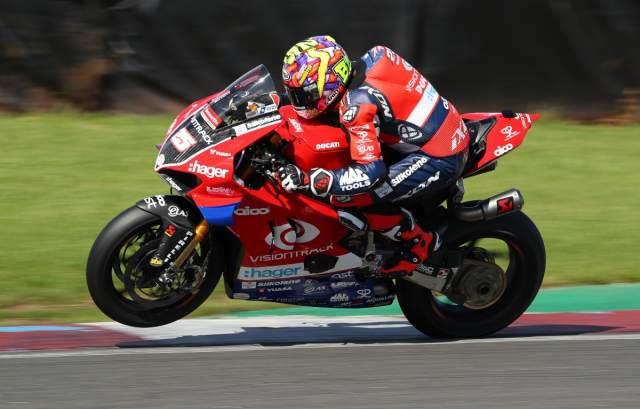Josh Brookes - VisionTrack Ducati [credit: Ian Hopgood]