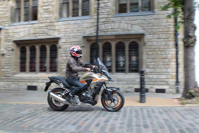 Honda CB500X video review