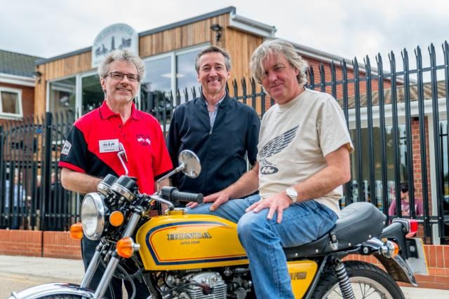 David Silver, James May and Freddie Spencer
