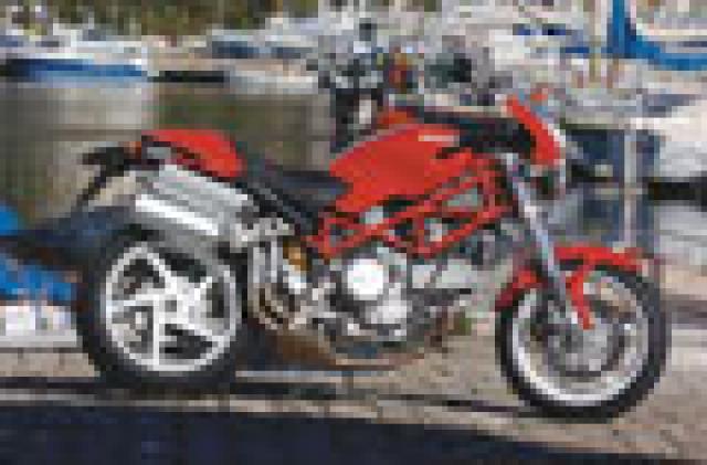 First Ride: 2005 Ducati S2R