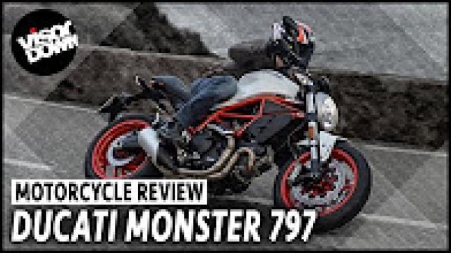 Ducati Monster 797 video review