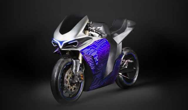 Emula electric concept motorcycle