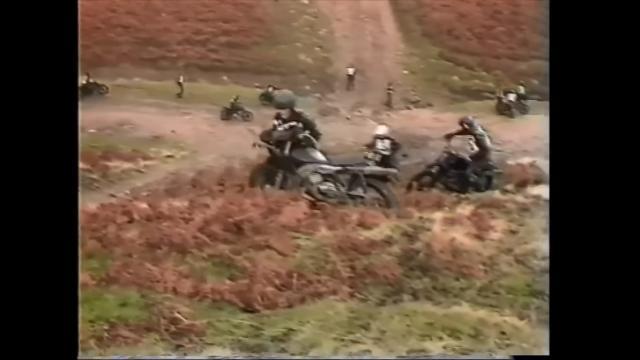 Enduro training with the British army