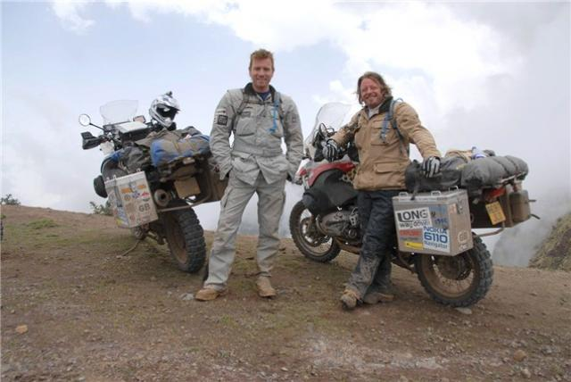 Are Charley Boorman and Ewan McGregor about to take the 'Long Way Up'?
