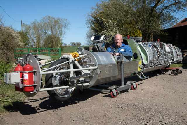 Guy Martin 400mph streamliner motorcycle