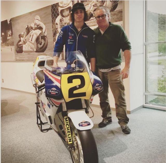 Wayne Gardner and Remy Gardner