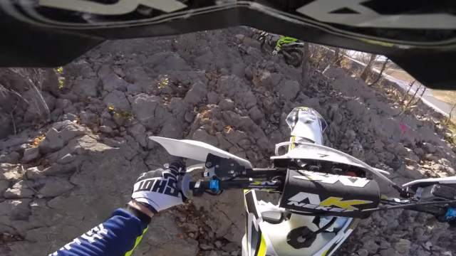 What's it like to ride like Graham Jarvis?