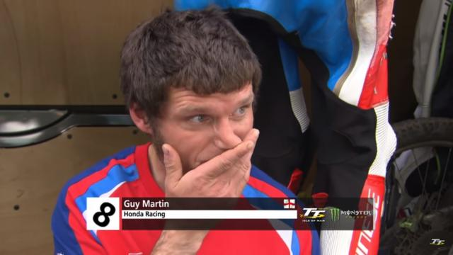 Watch: Guy Martin on his TT 2017 crash