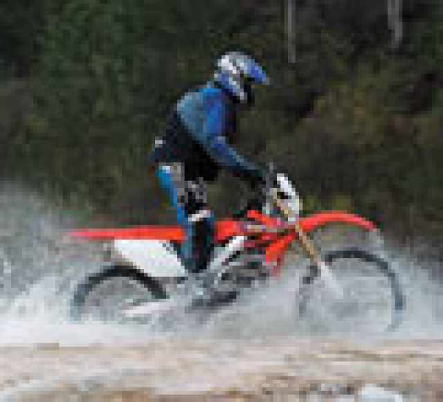 First Ride: 2004 Honda CRF250-X