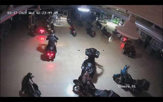 Harley Davidson theft indiana