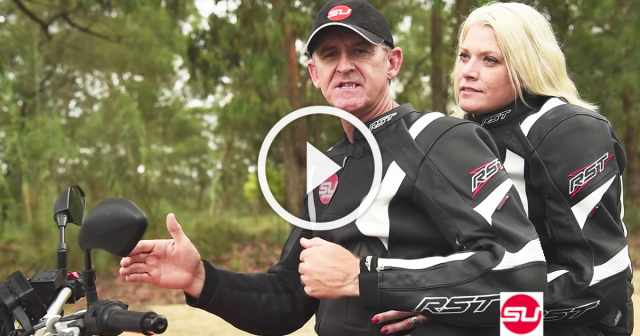 VIDEO: How to ride with a pillion passenger