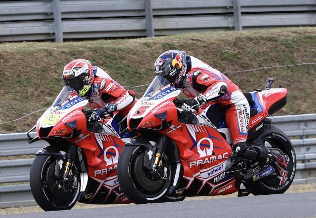 Johann Zarco, Tito Rabat - Pramac Racing Ducati MotoGP 2021