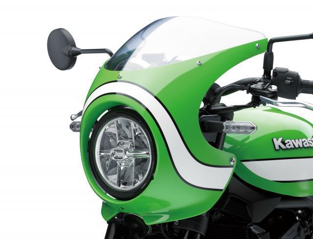 Kawasaki Z900RS CAFE - a closer look