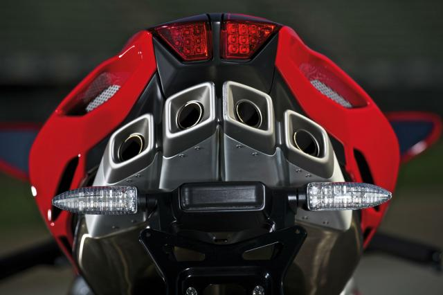 New MV Agusta four in 2018