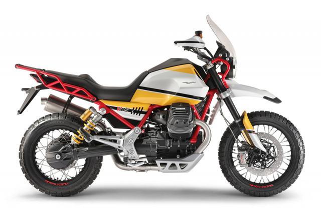Moto Guzzi announces new range of 850cc adventure bikes