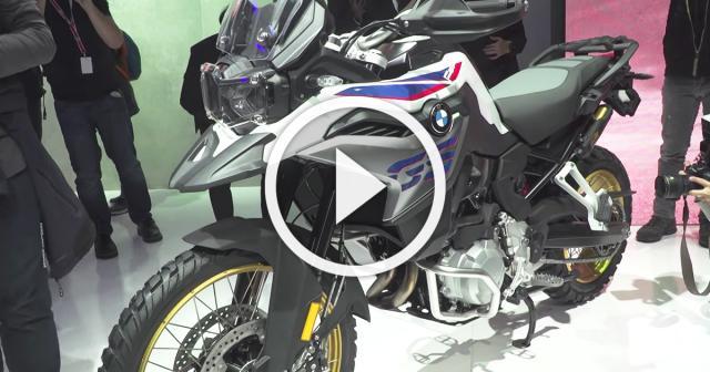 New BMW F850 GS - A closer look