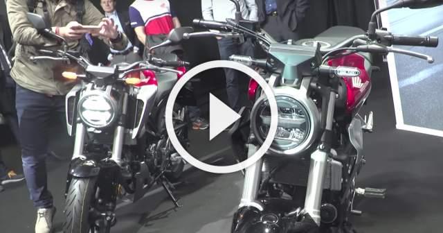 New Honda CB1000R, CB300R and CB125R - A closer look