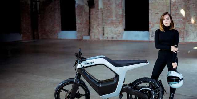 Novus electric motorcycles