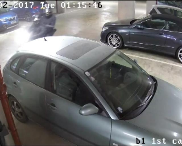 Harley-Davidson theft suspects