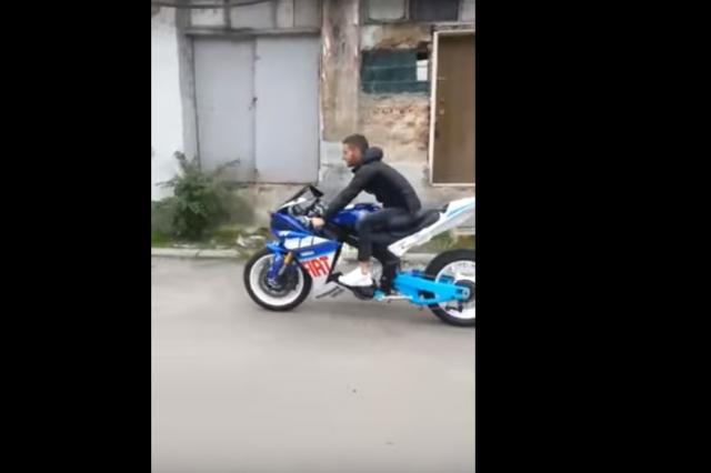 Yamaha R1 bicycle