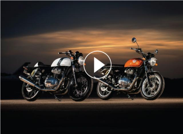 Watch: reaction as Royal Enfield 650 twins are revealed