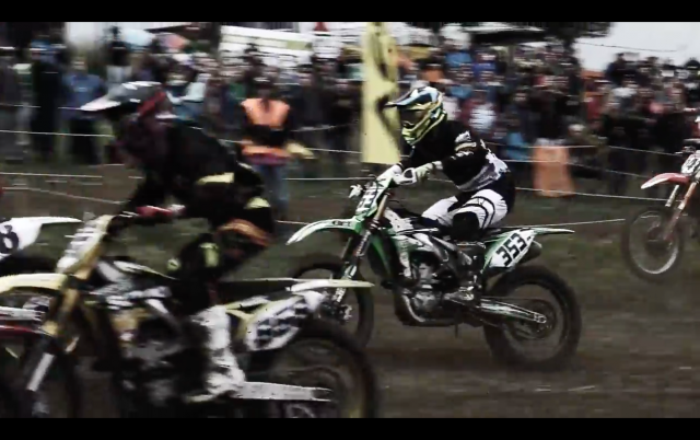 Who wouldn't want to watch a motocross race in slow-motion