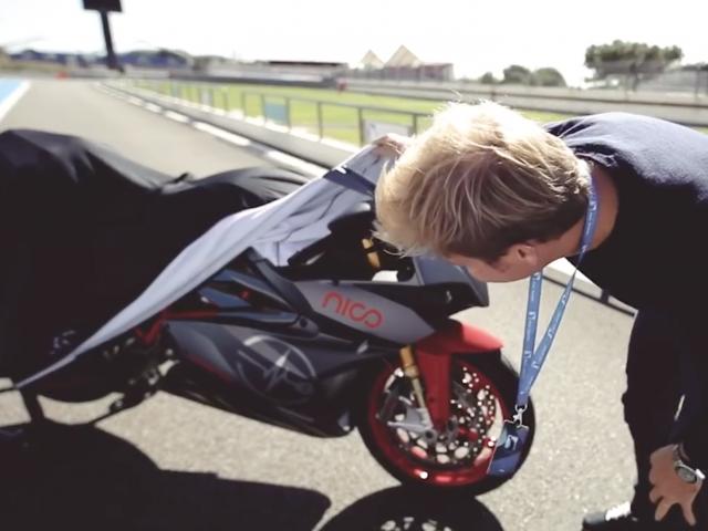 2020 Energica Ego Nico Rosberg