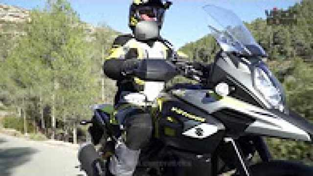 Suzuki V-Strom 1000 video review